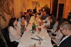 Jahresabschluss-Essen in Augsburg