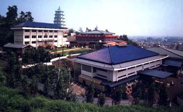Hombu (Hauptsitz der Shorinji Kempo- Organisation) in der Stadt Tadotsu © World Shorinji Kempo Organization