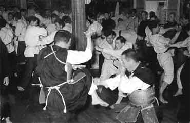 Shorinji Kempo-Training um 1950 © World Shorinji Kempo Organization