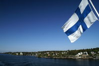 Fahrt auf der Fähre nach Finnland